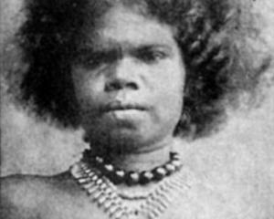 Australische Ureinwohnerin
