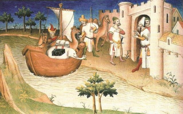 Marco Polo auf Reisen