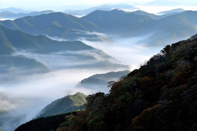 Japanische Berge, spukt hier der Shamanu noch herum?