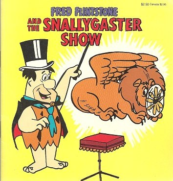 Fred Flintstone and the snallygaster