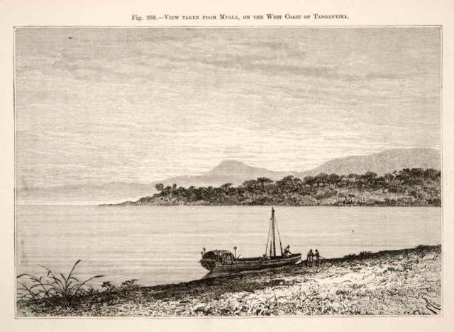 Tanganijkasee 1892