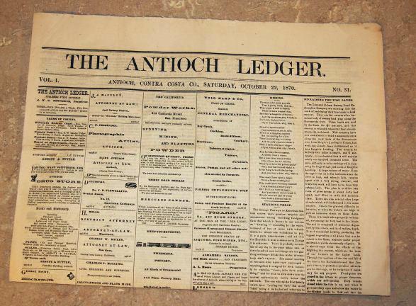 Antioch Ledger