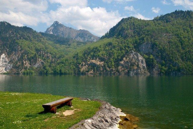 Der Traunsee als Alpensee