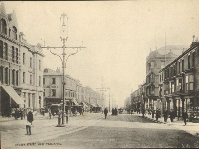 Historische Aufnahme von Hartlepool