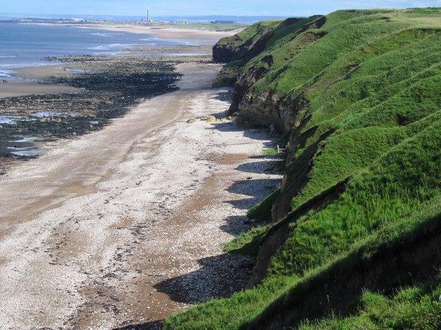 Küste bei Hartlepool