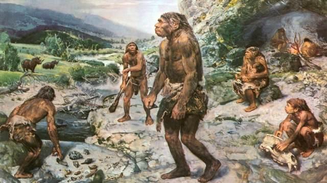 Historische Vorstellung von Urmenschen, gab es Ähnlichkeit mit Sana?