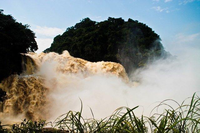 Wasserfälle des Kongo