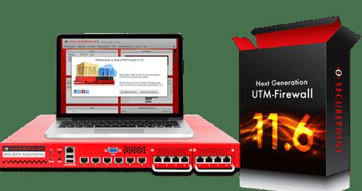 UTM Firewall 11.6 Firewall Schweinfurt Netzwerk Backup IT Sicherheit