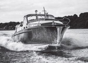 Das restaurierte Boot im Spätsommer 2016