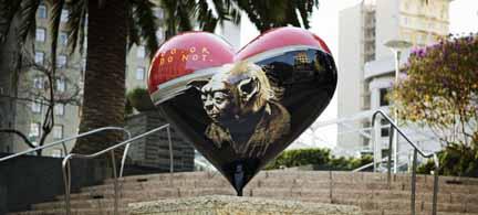 Yoda Fiberglass Heart