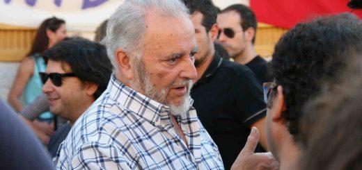 Der spanische Kommunist Julio Anguita ist ein scharfer Kritiker des Neoliberalismus.