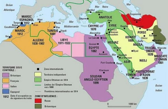 Osmanisches Reich Karte 1914.Die Heutige Situation Im Nahen Osten Von Einem Weltkrieg In Den