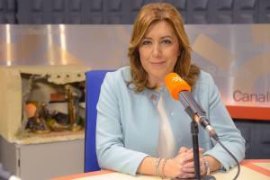 Susana Diáz ist eine spanische Politikerin der PSOE.