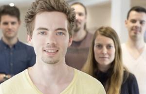 Cedric Stein ist Gründer des Starts-ups umatter in Hamburg.