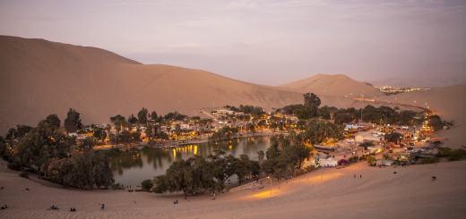 Oase Von Huacachina Peru - Foto von Clotina - Pixabay.com - Creative Commons CC0