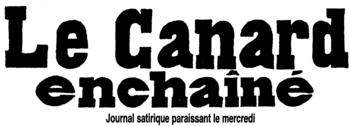 Logo von Le Canard enchaîné