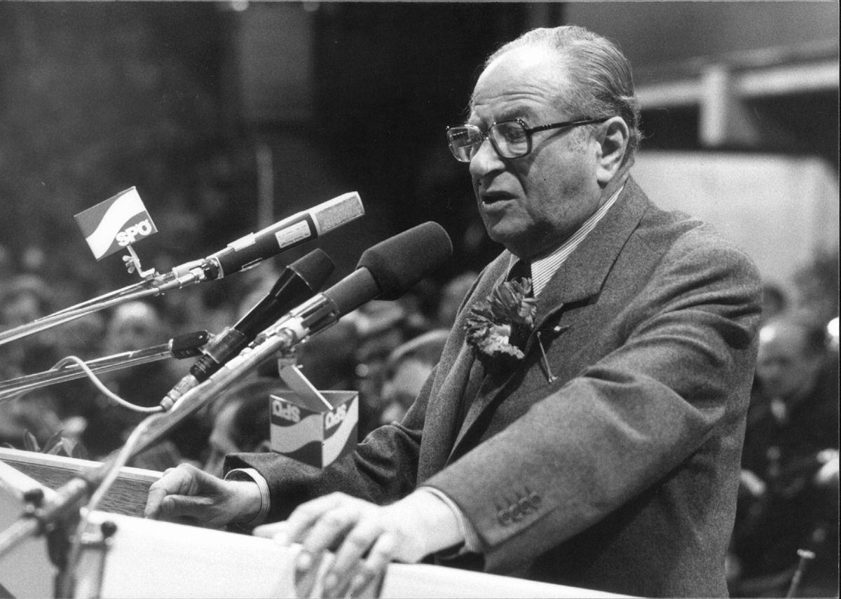 Bruno Kreisky 1983 - Votava (SPÖ Presse und Kommunikation) - flickr - CC BY-SA 2.0