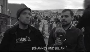 Stimmen aus dem Off - Johannes und Julian
