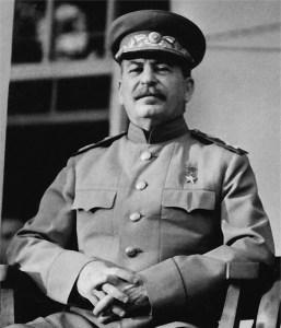 Josef Wissarionowitsch Stalin - Teheran Konferenz 1943 - gemeinfrei