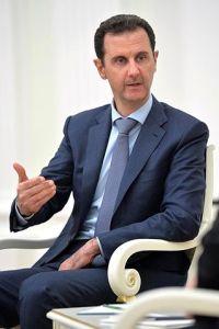 Baschar al-Assad bei einem Besuch in Russland im Oktober 2015. Foto Kremlin.ru CC-BY 4.0