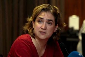Barcelonas BürgermeisterinAda Colau Ballano sucht im Katalonien-Konflikt die Hilfe Europas.