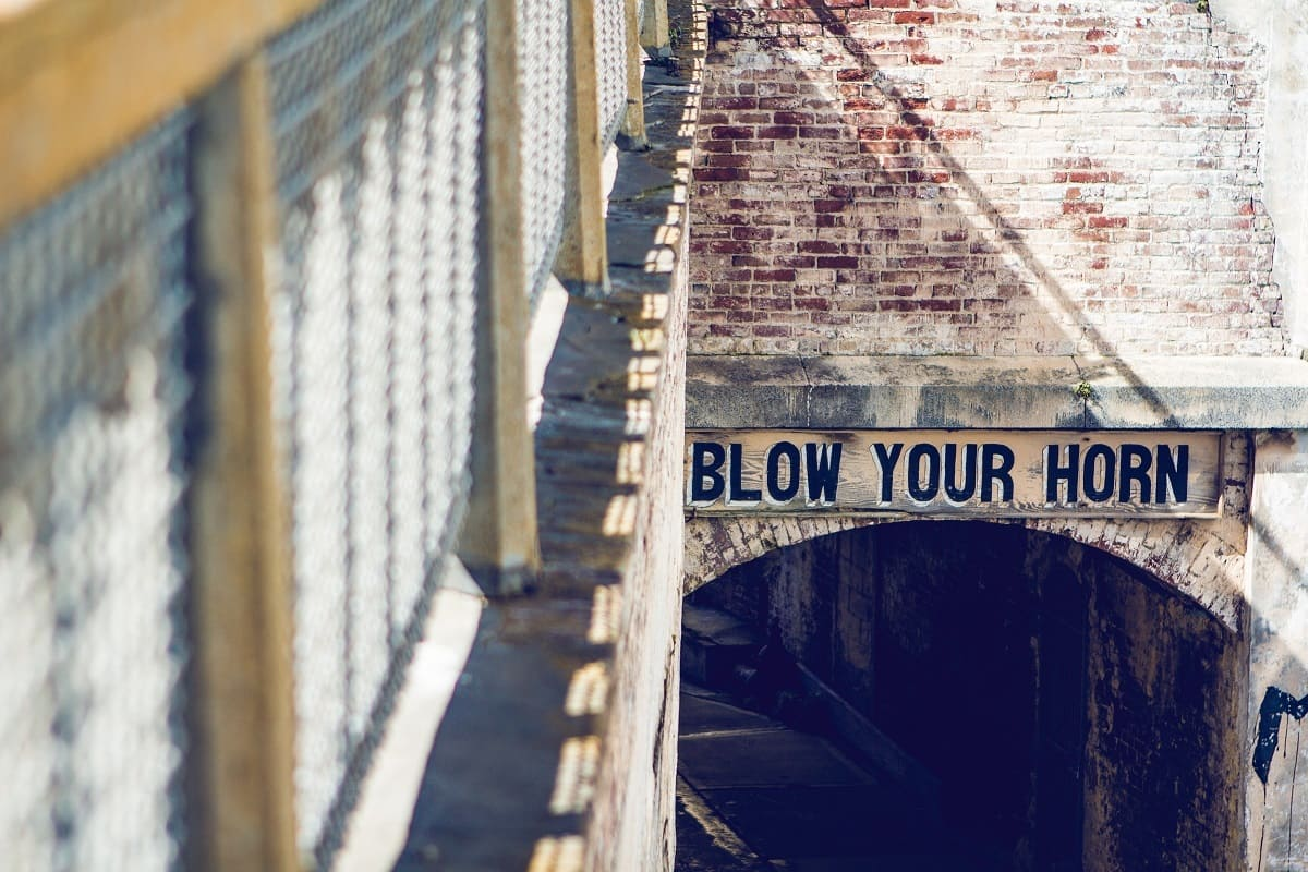 Blow your Horn. (Foto: Rita Morais, Unsplash.com)