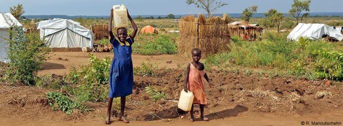 Kinder in Afrika. Foto Robert Manoutschehri