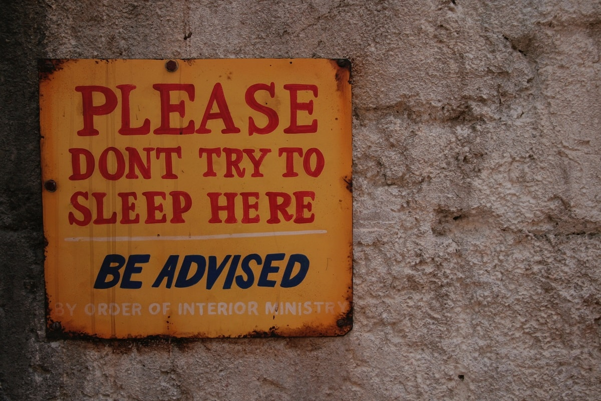 Bitte nicht schlafen. (Foto: Maria Freyenbacher, Unsplash.com)