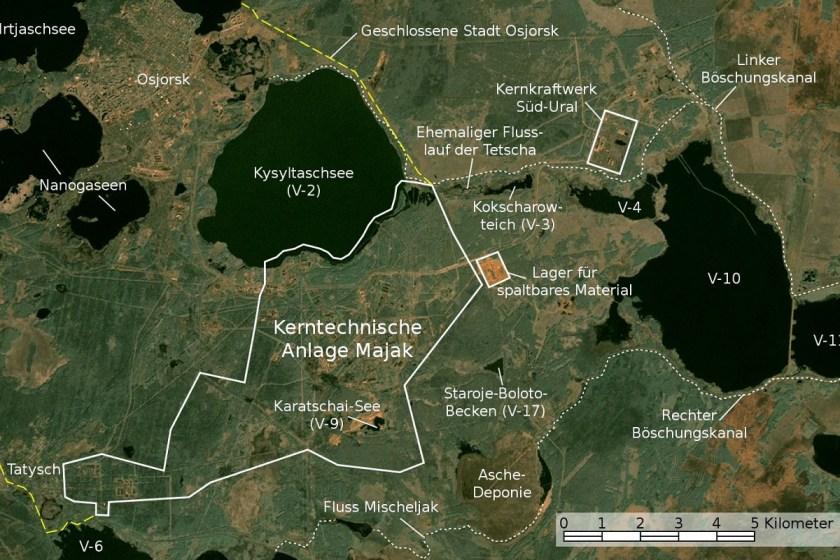 Erhöhte Werte: Europa und die Strahlung aus dem südlichen Ural