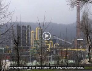 """""""Mütterstreik"""" ist eine Dokumentation über polnische Arbeiterinnen in der Sonderwirtschaftszone Wałbrzych."""