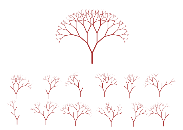 Bäume als Ansatz für ein alternatives Bildungssystem. (Grafik: Gerhard Kugler)