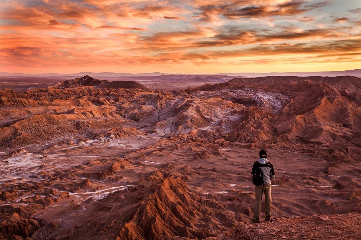 Bergwelt von Chile in Südamerika. (Foto: Elaine Casap, Unsplash.com)