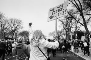 Bild vom Womens March in Washington DC am 21. Januar 2017. (Foto: Jerry Kiesewetter, Unsplash.com)