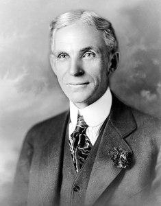 Henry Ford (1863-1947) gründete den Automobilhersteller Ford Motor Company und perfektionierte die Fließbandfertigung im Automobilbau. (Foto: Wikipedia/Gemeinfrei)
