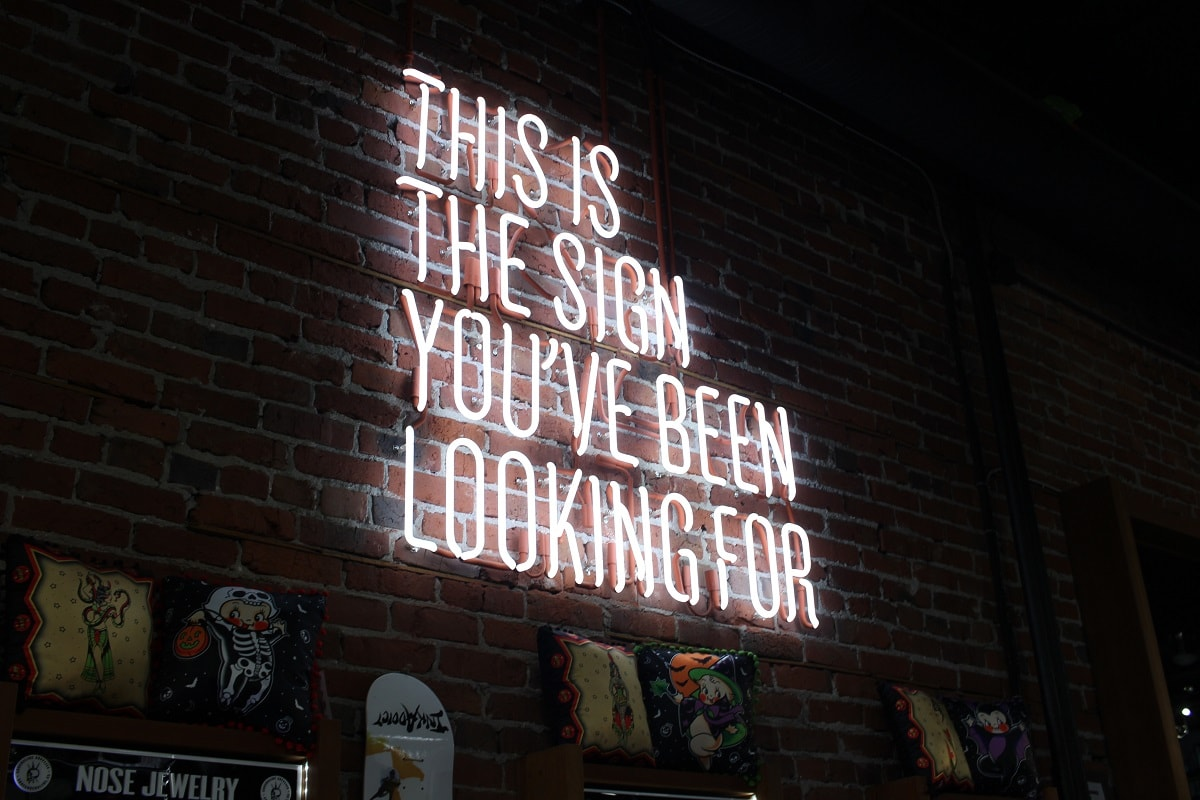 This is the sign. (Foto: Austin Chan, Unsplash.com)