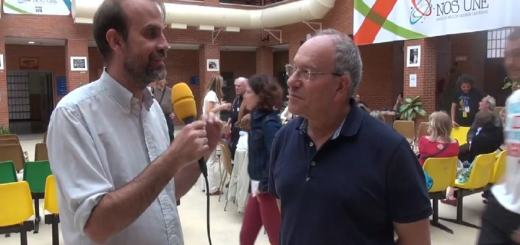 Tomás Hirsch, humanistischer Abgeordneter aus Chile, in Madrid 2018. (Foto: Screenshot; Pressenza Video)