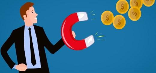 Geld verdienen. Comicfigur. (Grafik: Mohamed Hassan, Pixabay.com, Creative Commons CC0)