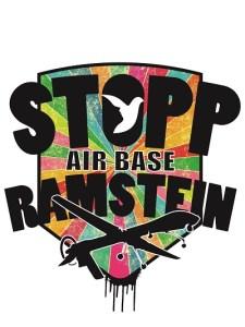 STOP Airbase Ramstein Logo Ramstein Kampagne