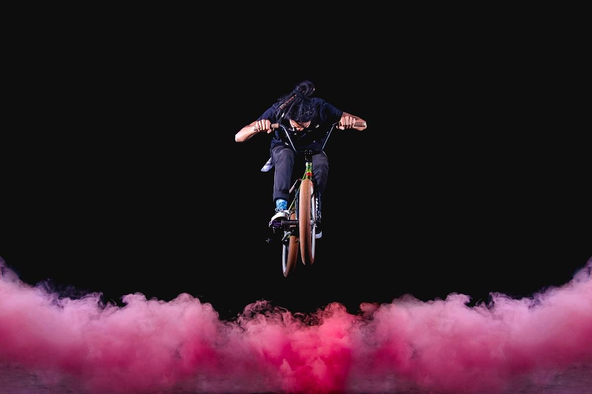Fahrradsprung. (Foto: Andhika Soreng, Unsplash.com)