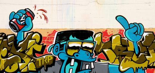 Graffiti in Downtown San Diego. (Foto: Kelcy Gatson, Unsplash.com)