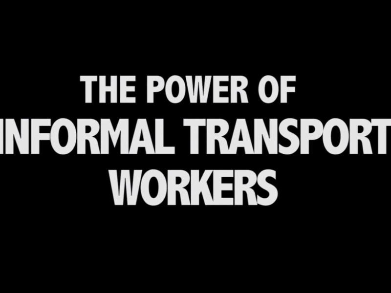 Informelle Wirtschaft: Videointerviews mit Transportarbeitern