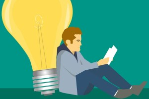 Der lesende und wissende Mensch. (Illustration: Mohamed Hassan, Pixabay.com, Creative Commons CC0)