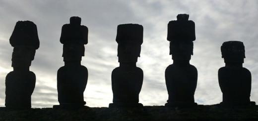 Statuen auf den Osterinseln. (Foto: Jamie Norman, Pixabay.com,Creative Commons CC0)