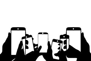 Smartphone. Das Denken und Fühlen verändert sich. (Illustration: Geralt, Pixabay.com; Creative Commons CC0)