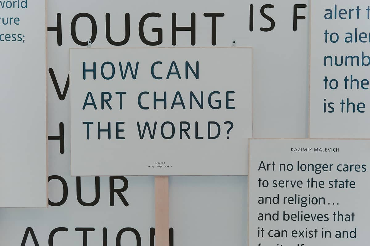 How Can Art Change The World (Foto: Toa Heftiba, Unsplash.com)