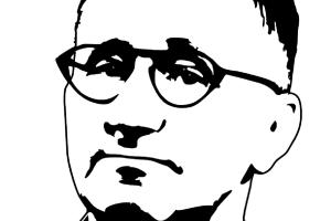 Der Dichter Bertolt Brecht im Film. (Grafik: OpenClipart-Vectors, Pixabay.com)