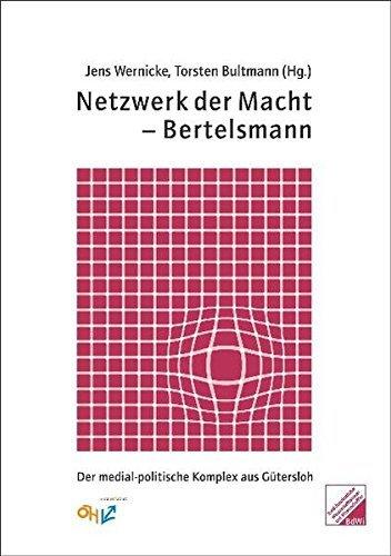 Der medial-politische Komplex aus Gütersloh Buchcover Jens Wernicke Torsten Bultmann