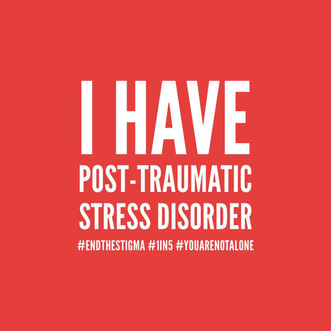 I have Post Traumatic Stress Disorder (Grafik: Rubikon)