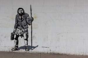 Kein Schock, sondern ein Graffiti in der Bath Street, Glasgow, United Kingdom. (Foto: Crawford Jolly, Unsplash.com)