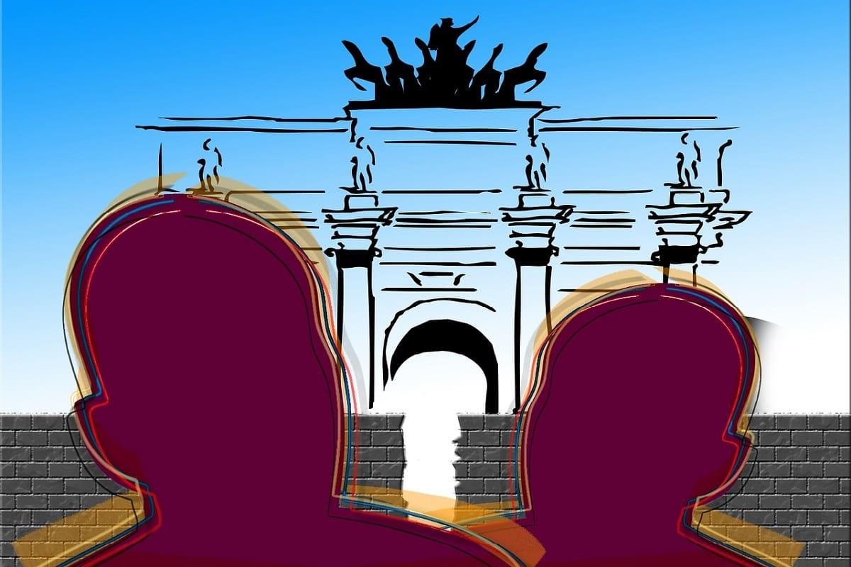 Berlin, der Osten und die offene Mauer. I(llustration: Gerd Altmann, Pixabay.com)